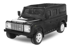 Masinuta electrica Land Rover Defender 2x35W 12V cu ROTI MOI #Negru0