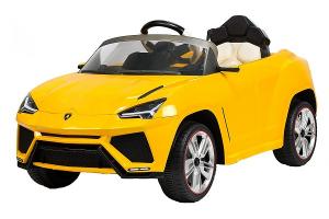 Masinuta electrica Lamborghini Urus CU SCAUN TAPITAT 12V #Galben0