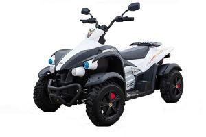 ATV Electrica pentru copii Dooma EVA - Quad 2x 45W 12V #Alb0