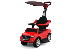 Carut pentru plimbat copii 2 in 1 Ford Ranger STANDARD #Rosu0