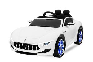 Masinuta electrica Maserati Alfieri CU ROTI MOI 12V 2x35W #Alb0