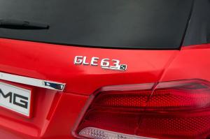 Masinuta electrica Mercedes GLE63S 2x22W 12V PREMIUM #Rosu3