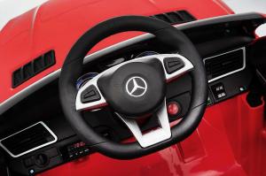Masinuta electrica Mercedes GLE63S 2x22W 12V PREMIUM #Rosu6