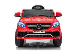 Masinuta electrica Mercedes GLE63S 2x22W 12V PREMIUM #Rosu0