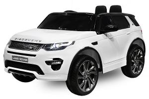 Masinuta electrica Land Rover Discovery DELUXE cu Touchscreen Mp4 #ALB0
