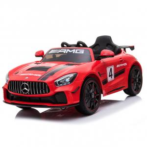 Masinuta electrica Mercedes GT-R STANDARD 2x25W 12V AMG #Rosu0