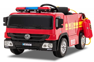 Masinuta electrica Pompieri Fire Truck Hollicy STANDARD #RED0