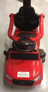Carut pentru plimbat copii 2 in 1 Ford Ranger STANDARD #Rosu2