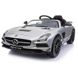 Masinuta electrica Mercedes SLS AMG PREMIUM #Silver0