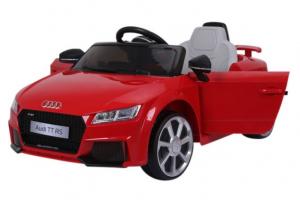 Masinuta electrica Audi TT RS 2x 30W STANDARD 12V #Rosu1