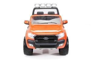 Masinuta electrica Ford Ranger 4x4 cu ROTI MOI 4x45W #Portocaliu0