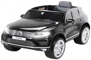 Masinuta electrica VW Touareg CU ROTI MOI 2x 35W 12V #Negru0