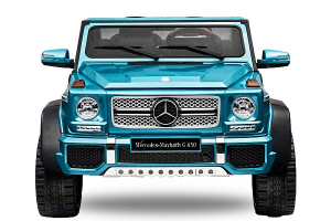 Masinuta electrica Mercedes G650 180W MAYBACH DELUXE #Albastru0