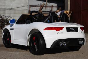 Kinderauto Jaguar F Type cu ROTI MOI 2x 35W 12V #ALB4