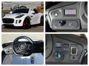 Kinderauto Jaguar F Type cu ROTI MOI 2x 35W 12V #ALB6