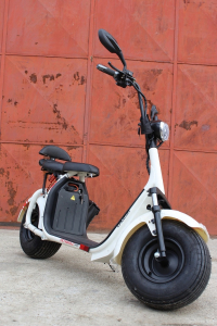 Scuter electric NITRO Eco Cruzer 1000W 60V + Accesorii #Alb2