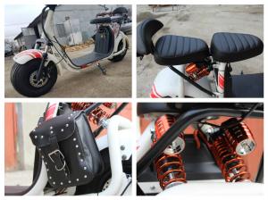 Scuter electric NITRO Eco Cruzer 1000W 60V + Accesorii #Alb7