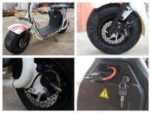 Scuter electric NITRO Eco Cruzer 1000W 60V + Accesorii #Alb8