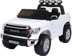 Masinuta electrica Toyota Tundra 2x45W PREMIUM #Alb0