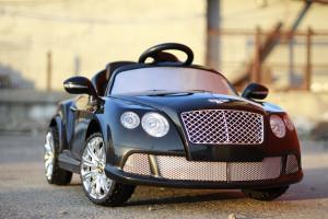 Masinuta electrica Bentley Continental GTC STANDARD 12V #Negru3
