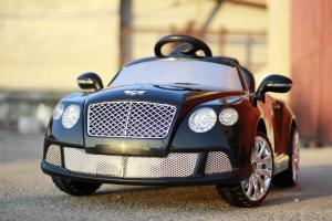 Masinuta electrica Bentley Continental GTC STANDARD 12V #Negru2