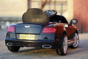 Masinuta electrica Bentley Continental GTC STANDARD 12V #Negru6
