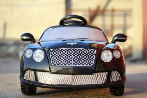 Masinuta electrica Bentley Continental GTC STANDARD 12V #Negru1