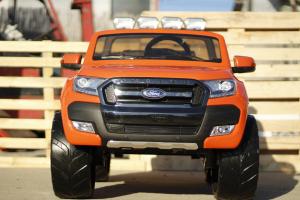 Masinuta electrica Ford Ranger 4x4 cu ROTI MOI 4x45W #Portocaliu2