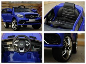 Masinuta electrica pentru copii Mercedes GLE 63S, albastra [6]
