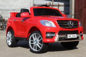 Masinuta electrica Mercedes ML350 2x25W STANDARD 12V #Rosu2