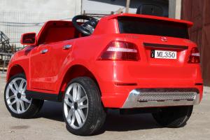 Masinuta electrica Mercedes ML350 2x25W STANDARD 12V #Rosu5