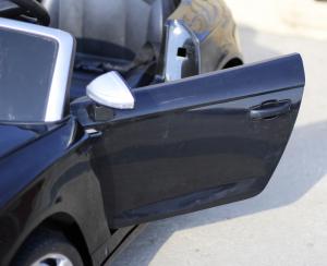 Masinuta electrica Audi S5 Cabriolet 2x35W CU ROTI MOI 12V #Negru8
