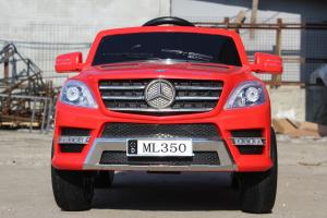Masinuta electrica Mercedes ML350 2x25W STANDARD 12V #Rosu3