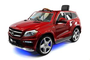 Masinuta electrica Mercedes GL63 DELUXE #Rosu0