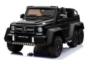 Masinuta electrica Mercedes G63 6x6 270W Premium #Negru0