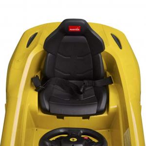 Masinuta electrica Ferrari F12 1x 25W STANDARD 12V #Galben5