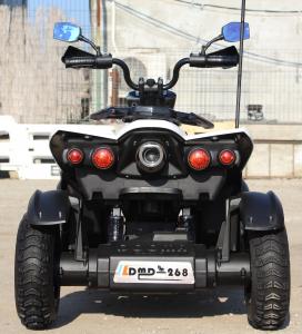 ATV Electrica pentru copii Dooma EVA - Quad 2x 45W 12V #Alb3