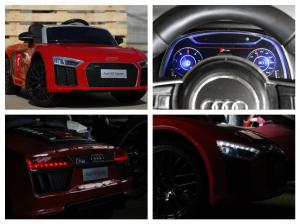 Masinuta electrica Audi R8 Spyder 2x35W 12V PREMIUM #Rosu8