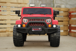 Masinuta electrica JeeP Outdoor 90W 12V PREMIUM #Rosu5