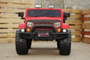 Masinuta electrica JeeP Outdoor BJ1668 90W 12V PREMIUM #Rosu5