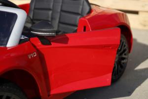 Masinuta electrica Audi R8 Spyder 2x35W 12V PREMIUM #Rosu3