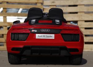Masinuta electrica Audi R8 Spyder 2x35W 12V PREMIUM #Rosu4