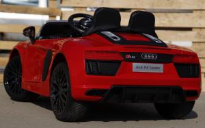 Masinuta electrica Audi R8 Spyder 2x35W 12V PREMIUM #Rosu5