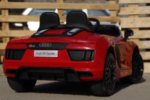 Masinuta electrica Audi R8 Spyder 2x35W 12V PREMIUM #Rosu6