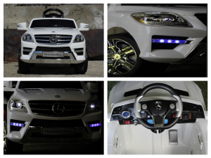 Masinuta electrica Mercedes ML350 STANDARD 1x25W #ALB8