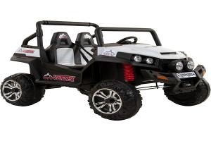 UTV electric pentru copii Golf-Kart 4x45W 2x12V PREMIUM #ALB0