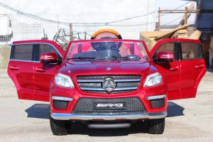 Masinuta electrica Mercedes GL63 DELUXE #Rosu5