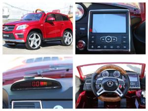 Masinuta electrica Mercedes GL63 DELUXE #Rosu6