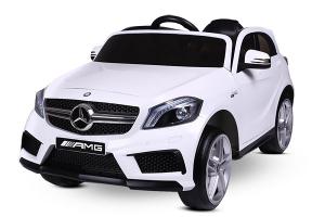 Masinuta electrica Mercedes A45 AMG PREMIUM 12V #ALB0