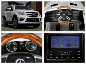 Masinuta electrica Mercedes GL63 4x4 DELUXE #ALB7